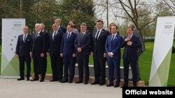 Crnogorski premijer Duško Marković na Brdu kod Kranja na Samitu SEECP (gov.me)