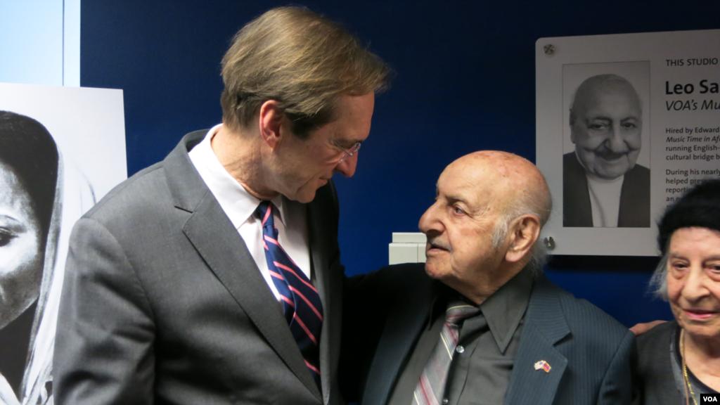 David Ensor and Leo Sarkisian