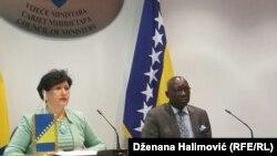 Odnos prema žrtvama - stvar ljudskosti: Semiha Borovac i Adam Dieng