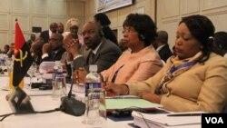 Para delegasi menghadiri KTT Komunitas Pembangunan di Kawasan Afrika Selatan atau SADC (foto: dok).