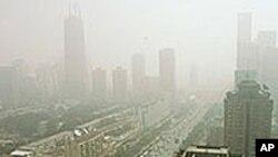 北京的空氣污染情形嚴重