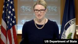 美国国务院发言人哈夫(图片来源:美国国务院)