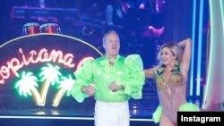 شان اسپایسر، سخنگوی مطبوعاتی پیشین کاخ سفید در مسابقه رقص با ستارگان شرکت کرد