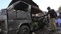 در حمله یک بمبگذار انتحاری در پاکستان ۱۸ تن کشته شدند