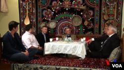 Turkistan-Amerika assotsiatsiyasi faollari