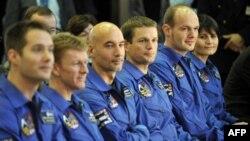 Astronauti Evropske svemirske agencije na pripremama