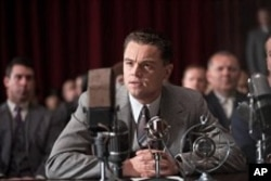 "Leonardo DiCaprio as J. Edgar Hoover in ""J. Edgar"""
