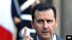 ဆီးရီးယားသမၼတ Bashar Al Assad