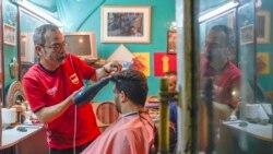 Le coiffeur des présidents américains