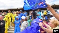 بھارتی کرکٹ بورڈ کے صدر سارو گنگولی نے انکشاف کیا ہے کہ بھارت، آسٹریلیا، انگلینڈ اور ایک اور ٹاپ ٹیم پر مشتمل 'سپر سیریز' کا انعقاد 2021 سے ہونے جا رہا ہے۔ (فائل فوٹو)