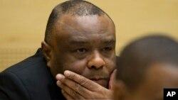 Mantan Wapres Kongo, Jean-Pierre Bemba pada persidangan di ICC di Den Haag, Belanda (foto: dok).