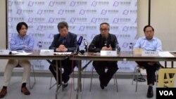 香港民主思路舉辦溫和政治論壇。(美國之音湯惠芸攝)
