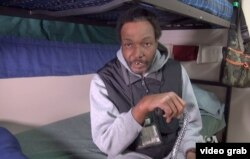 Gregory Talley used to sleep in a park, at an airport, or under a bridge. The 50-year-old has been homeless for more than 10 years.