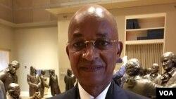 Le chef de l'opposition guinéenne Cellou Dalein Diallo à la convention Démocrate à Phildalphie, Etats-Unis, 26 juillet 2016.
