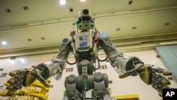 روسی روبوٹ خلا باز 'فیڈر' ۔ فائل فوٹو