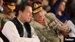 وزیراعظم عمران خان او د پاکستان د پوځ مشر جنرل قمر جاوید باجوه