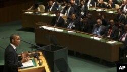Barak Obama Bosh Assambleyada so'zlamoqda, 25-sentabr, 2012