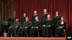 9 vị Thẩm phán Tối cao Pháp viện Hoa Kỳ
