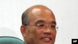 台灣民進黨主席參選人蘇貞昌