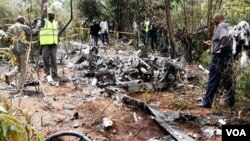 کینیا میں ہیلی کاپٹر کا حادثہ