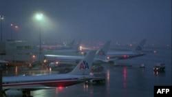 В Вайоминге самолет выехал за пределы взлетно-посадочной полосы