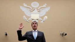 Ông Michael Cohen tại Hạ viện Mỹ hôm 27/2.