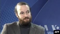 Главный редактор российского Интернет агентства «Кавказский узел» Григорий Шведов. Вашингтон. 19 октября 2010 года