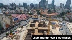 Dự án Metro số 1 Bến Thành-Suối Tiên.