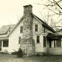 "The farm house where Laura wrote her ""Little House"" books"