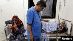 Предполагаемые жертвы прошлых химических атак в Сирии. Фото Рейтер