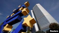 Le siège de la Banque Centrale Europeenne à Frankfort, le 29 septembre 2011