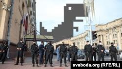 Минск. Блокировка интернета