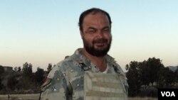 نجیب الله ساتنمن پولیس سرحدی افغانستان که شب گذشته در درگیری با نظامیان پاکستانی در ولسوالی برمل پکتیکا جان باخت.