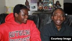 Prof. Chikowero and Dr Thomas Mapfumo