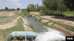 Один из участков кыргызско-таджикской границы