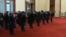 12月26日习近平率常委参拜毛泽东纪念堂向毛泽东坐像三鞠躬。