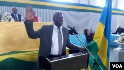 Bwana Habyarimana Gilbert, Umuyobozi mushya w'akarere ka Rubavu