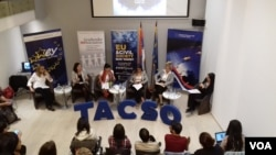 """Učesnice rasprave u EU info centru """"Kako komuniciramo EU"""""""