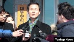김장수 전 한국 국가안보실장 (자료사진)