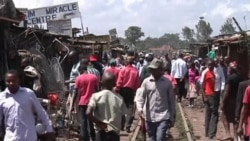 Train Derails into Nairobi Slum