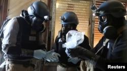 Tim stručnjaka UN-a za hemijsko oružje u Damasku u Siriji 2013. godine (Arhiva)