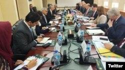 پاکستان امریکہ تجارت کے موضوع پر ایک اجلاس (فائل فوٹو)