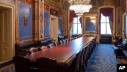 Зал для заседаний сенатского комитета по бюджетным ассигнованиям