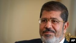 Mohamed Morsi, dans son palais à Heliopolis, le 7 oct. 2012