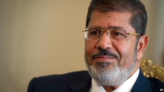 Ông Mohammed Morsi ở Cung điện Ittihadiya Palace, nơi ở chính thức của Tổng thống ở Heliopolis, ngoại ô Cairo.