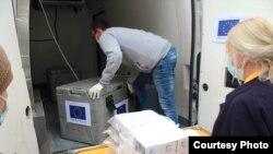 EU help Bosnia covid