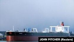 Британский танкер Mesdar