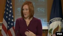 Juru bicara Deplu AS Jen Psaki hari Selasa (19/11) mengatakan Amerika dan Afghanistan belum selesai melakukan pembahasan perjanjian keamanan (foto: dok).