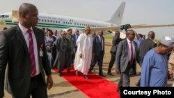 Ziyarar Shugaba Buhari a Jos