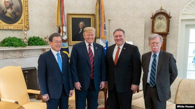 特朗普在朝鲜问题上感谢和期待中国和俄罗斯帮助